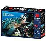 National Geographic 500 Pezzi 3D Puzzle Jigsaw Tartaruga di mare 10028