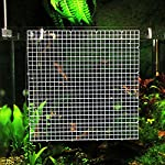 DealMux Aquarium Fish Tank Fry Screen Egg Net Crate Separate Divider Board Black 6