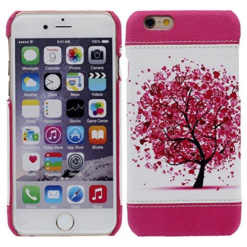 iPhone 7 Plus Coque Mince et Léger, Dur Plastique Rose Beau Housse de Protection Case pour Apple iPhone 7 Plus 5.5 inch rose-2