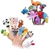 TOYMYTOY 20 pcs Finger Puppets Heure Temps Doigt Poupée Props Jouet Mer Animaux Éducatifs Doigt Marionnettes