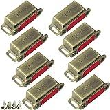 Kast Magneten Jiayi 8 Stuks Bronzen Kast Deur Magneet 6 KG Trek Magnetische Deur Catch Roestvrij Staal Magnetische Vangsten v