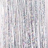 ?Higlles Extensions holographiques de paillettes scintillantes,scintillants mettant en valeur la perruque de fête