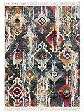 Benuta Teppich Simsala Anthrazit 160X240 cm - Vintage Teppich im Used-Look