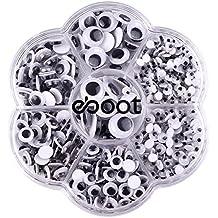eBoot 700 Pezzi Occhi Finti Occhi Pazzi