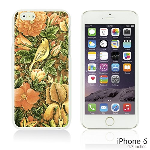 OBiDi - Flower Pattern Hardback Case / Housse pour Apple iPhone 6 / 6S (4.7 inch)Smartphone - Multicolor Floral Shapes Welcome Summer Flower