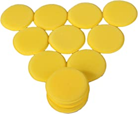 WLM Nice Waxing Polish Wax Foam Sponge Applicator Pads For Clean Car Vehicle Glass on Sale( Pack of 12)