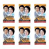 #4: Bigen Powder Hair Color, Oriental Black N10 - Pack of 6 (Combo Set)
