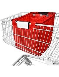 achilles, Bolsa para carro de compras con compartimiento de refrigeración y 3 compartimientos de botellas