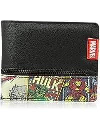 Marvel Retro Comic Wallet with Outside Zip [Importación inglesa]