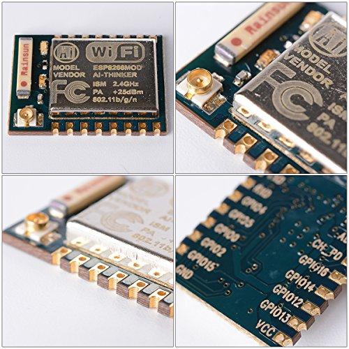 XCSOURCE 1x ESP8266 Esp-07 Serieller Anschluss W-LAN Empfänger Kabelloses Modul LWIP AP+STA TE221