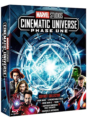 Marvel Studios – Cinematic Universe : Phase Une [Blu-ray]