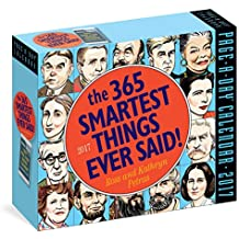 The 365 Smartest Things Ever Said! Page-A-Day Calendar 2017