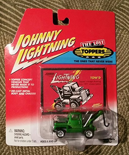 1970 Johnny Lightning The Lost Toppers Tow'd Wreaker Tow Truck Mint In Package by Johnny Lightning /Topper Toys