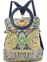 Oilily Folding City Backpack Indigo