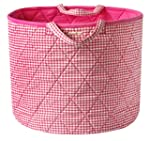 Simply Storage Pink Gingham Storage B...