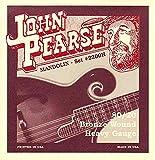 John Pearse 2210H Jeu de cordes pour Mandoline Tirant fort Naturel