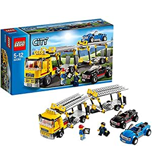 Lego city 60060 jeu de construction le camion de transport des voitures jeux - Lego city police camion ...