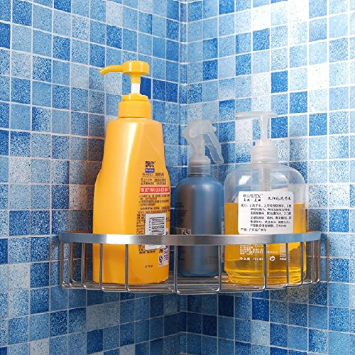 kes-a2123a-bathroom-corner-triangular-tub-and-shower-caddy-basket-polished-finish-sus304-stainless-s