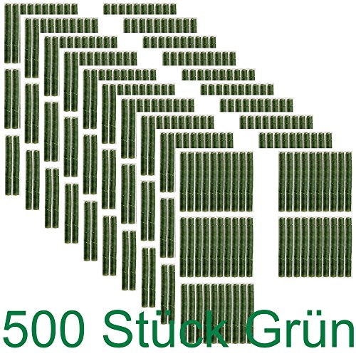 500 x Baum Manschette Wild Fegeschutz Spiralen Verbißschutz Schäl Schutz Wildfraß