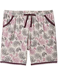Jockey Women's Modal Shorts (RX10-0103-RL053_Multicoloured_M)