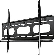 """Hama TV-Wandhalterung """"Ultraslim"""", für 94 - 229 cm Diagonale (37 - 90 Zoll), für max. 75 kg, VESA bis 800 x 500, Wandabstand 25mm, schwarz"""