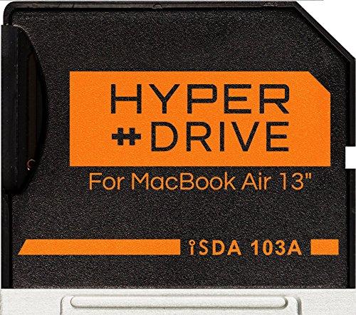 Baseqi aluminum MicroSD adattatore per Macbook Air 13' and MacBook Pro Non-Retina 13' & 15'