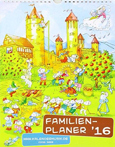 Familienplaner 2016: Familienplaner, Buch