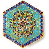 Blume des Lebens - Regenbogen Mandala