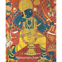 A library of manuscripts from India