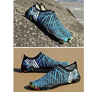 Scarpe da Scoglio per Uomo e Donna,Aqua Calzini per Immersione Nuotare Spiaggia Surf Yoga Sport Acquatico Traspirante Antiscivolo