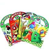 German Trendseller® - 1 x livre de coloriage ┃avec poignée┃avec sticker et pages à colorier┃l'anniversaire d'enfant┃petit cadeau ┃12 différentes couleurs┃fourniture scolaire...