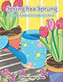 Adult Color By Numbers Coloring Book of Spring: A Spring Color By Number Coloring Book for Adults with Spring Scenes, Butterflies, Flowers, Nature, ... 31 (Adult Color By Number Coloring Books)
