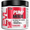 Evlution Nutrition Pump Mode (30 Serving, Watermelon) Nitric Oxide Booster To Support Intense Pumps, Performance and Vascularity by Evlution