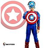 Kidroos Captain America Kids Costume Captain America Super Hero Dress Up