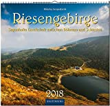 RIESENGEBIRGE - Sagenhafte Landschaft zwischen Böhmen und Schlesien: Original Rautenberg-Stürtz-Kalender 2018 - Mittelformat-Kalender 33 x 31 cm -