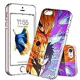 ASIB Coque iPhone SE/5S/5, iPhone SE/5S/5 Housse [Transparente Gel] Silicone Case...