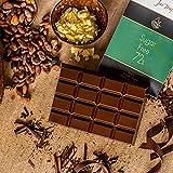Jus' Trufs Artisanal 72% Dark Sugar Free Chocolate Cooking Bar 430 gm