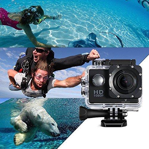 Action Cam,icefox® FHD Unterwasserkamera