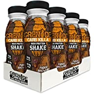 Grenade Carb Killa Fudge Brownie High Protein Shake Bottles, 8 x 330 ml