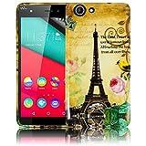 Wiko Pulp 3G / 4G 5.0 Zoll LA TOUR PARIS EIFFELTURM Silikon