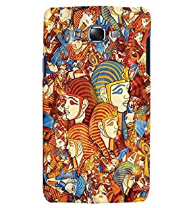 Citydreamz Pyramids of Egypt/Abstract Art Hard Polycarbonate Designer Back Case Cover For Samsung Galaxy Grand Prime G530H/G531H