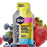 GU Roctane Energy Gel Tutti Frutti, 35mg Caffeina, box da 24 gel da 32g