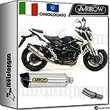 Arrow Kit Auspuff Hom Racetech Aluminium Carby Suzuki GSR 75020151520161671776AK + 71442Ich