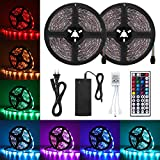 AMBOTHER LED Streifen LED Strip 10M RGB 5050SMD 300 LED