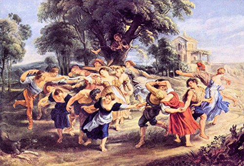 Das Museum Outlet-Barn Dance von Rubens-Poster Print Online kaufen (76,2x 101,6cm)
