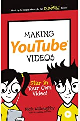 Making YouTube Videos (Dummies Junior) Paperback