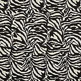 Fabulous Fabrics Jacquard Gobelin Zebra - schwarz/Weiss -