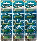 Eunicell 15 x 23A 12V (3 Blistercards a 5 Batterien) Quecksilberfreie Alkaline Batterien MN21, 23A, V23GA, L1028, A23 Markenware FBA