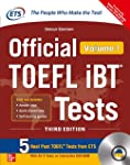 Official TOEFL iBT Tests Volume I W/DVD