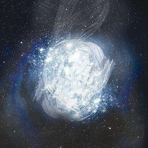 Apple iPhone 5s Housse Étui Protection Coque Univers Galaxie Galaxie Étui en cuir gris